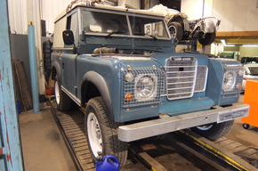 Landrover engine conversion