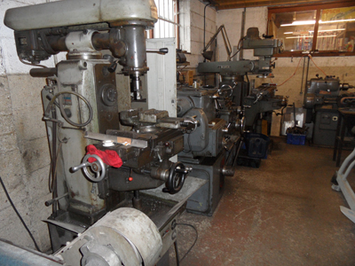 Our machine shop